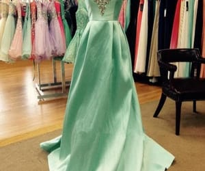 dress, evening dress, and prom dress image