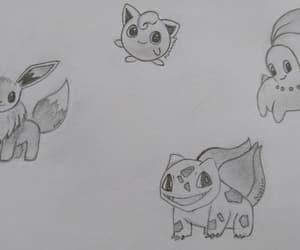 black, evoli, and draw image