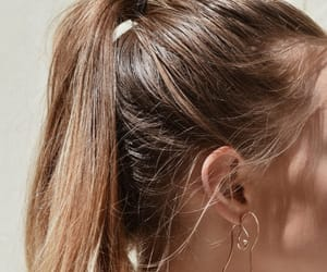 hair, pretty, and style image