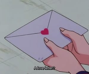 love, heart, and anime image
