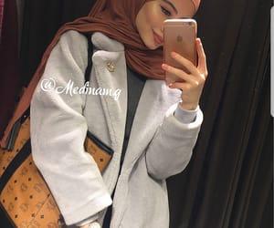 hijab, style, and hijâbi image