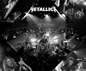 band, James Hetfield, and concert image