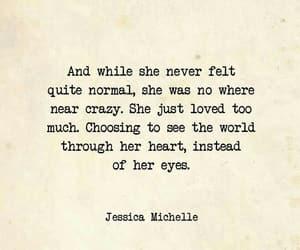 eyes, she, and heart image