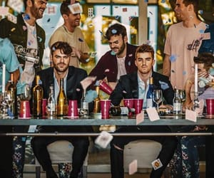 the chainsmokers, alex pall, and drew taggart image