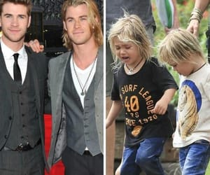 liam hemsworth, before&after, and chris hemsworth image