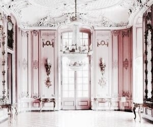 interior, pink, and rose gold image
