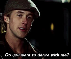 the notebook, love, and dance image