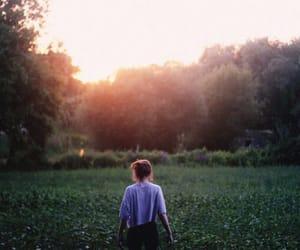 free, nature, and sunrise image