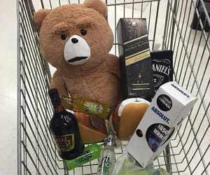 bear, TED, and alcohol image