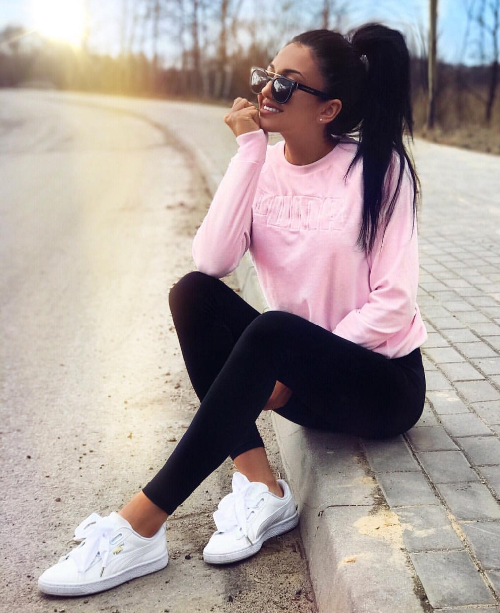hair, pinky, and sneakers image