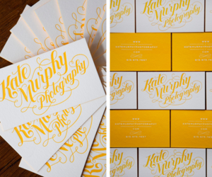 business card, graphic design, and script image
