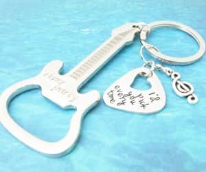 etsy, gift for guy, and guitar bottle opener image