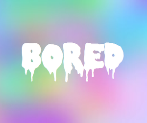 bored, boring, and hipster image