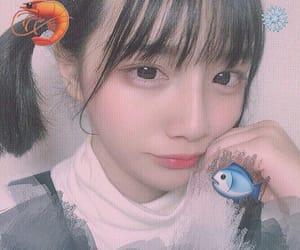 黒髪, 🌺, and 🐟 image