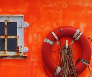 orange, wall, and window image
