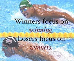 inpiration, Michael Phelps, and quote image
