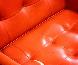 aesthetic, chair, and orange image