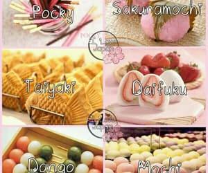 food, sweet, and mochi image