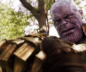 Marvel, infinity war, and thanos image