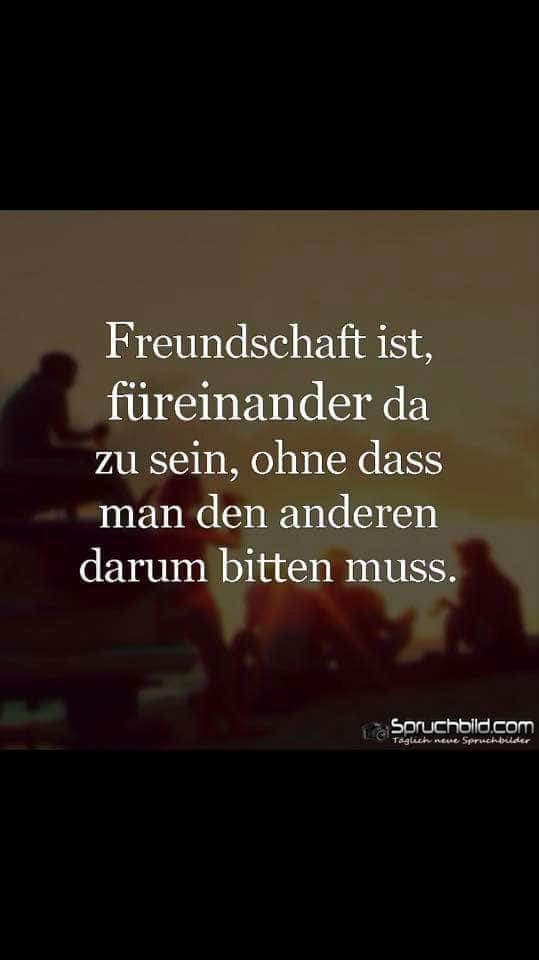 friends spruch