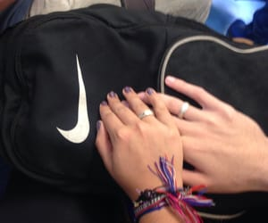 backpack, boyfriends, and love image