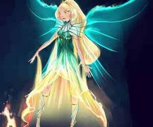 daphne, fairy, and fanart image