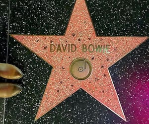 david bowie and Walk of Fame image