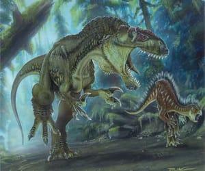 animal, dinosaur, and carnivore image