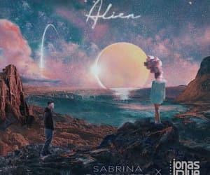 alien, sabrina carpenter, and jonas blue image