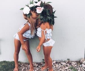 cuties, girls, and twins image