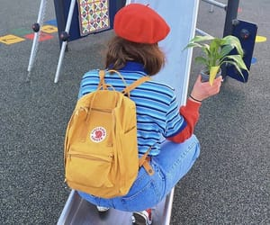 aesthetic, backpack, and old skool image