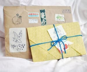 gift, mail, and wrapping image