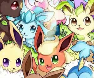 anime, eevee, and pokemon image