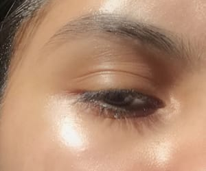 brown, eyebrows, and skin image