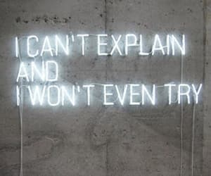 quotes, neon, and explain image