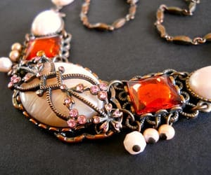 etsy, victorian style, and vintage necklace image