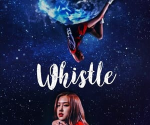 rose, blackpink, and whistle image