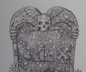 alternative, grave, and harry potter image
