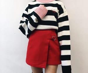 asian fashion, sweater, and beauty image