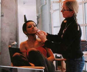2004, girl, and makeup image