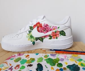 art, nike, and air force image