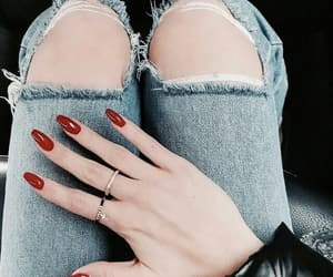 nails, fashion, and indie image
