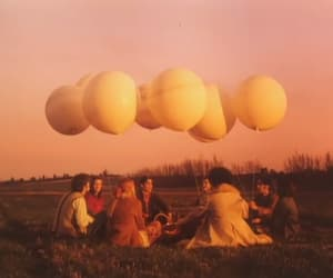 alternative, balloons, and meadow image
