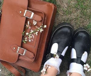flowers, shoes, and aesthetic image