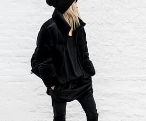 black, looks, and fashion image