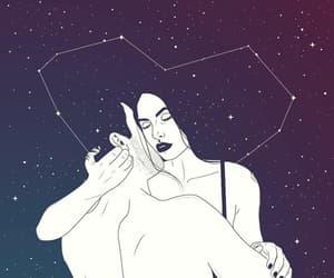 abrazo, art, and estrellas image