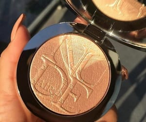 dior, glam, and highlighter image