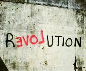 black, red, and revolution image