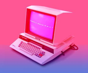 aesthetic, computer, and old image