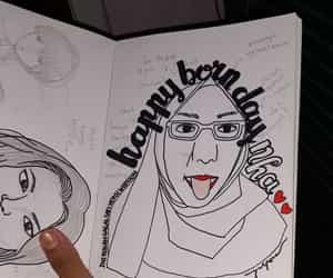 cartoon, sketch, and karikatur image